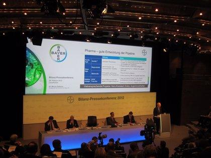 Bayer sortea con éxito la crisis y gana 2.470 millones en 2011, un 89,9% más