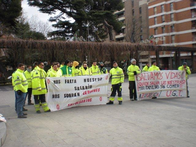 Manifestación De Empleados De Transaltozano