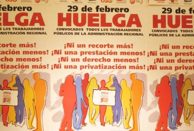 Cartel Huelga 29 Febrero