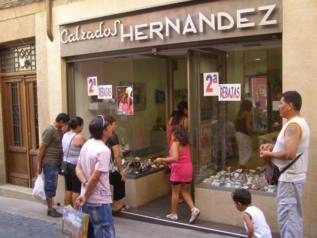 Descuentos En Una Zapatería De Tarazona (Zaragoza)
