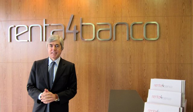 El Presidente De Renta 4 Banco, Juan Carlos Ureta