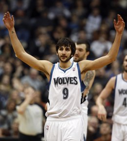 Ricky Rubio Con Los Timberwolves
