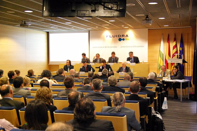 Junta General De Fluidra, Celebrada En Sabadell