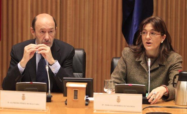 Secretario General Del PSOE, Alfredo Pérez Rubalcaba