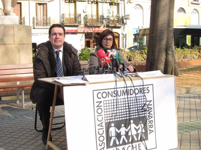 Rueda De Prensa De Irache En El Paseo De Sarasate.
