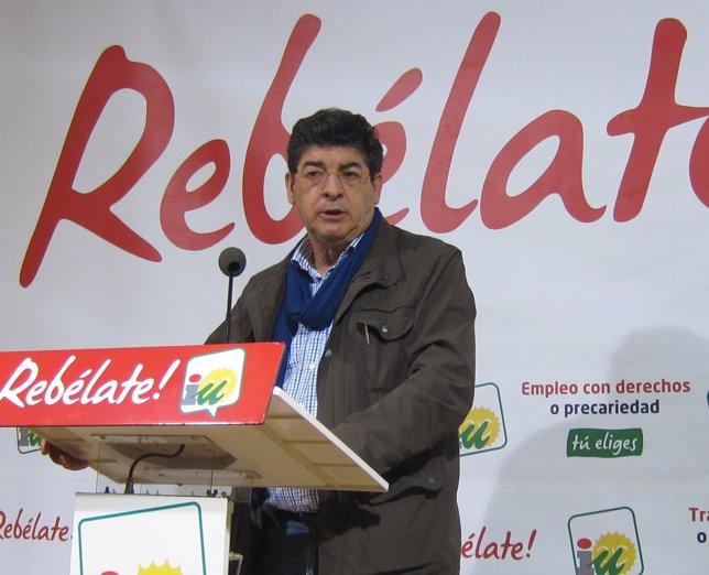 Diego Valderas, Coordinador General De IULV-CA
