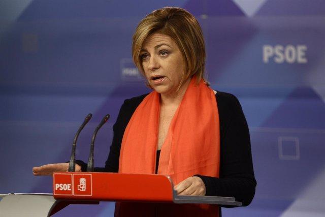 Rueda De Prensa De Elena Valenciano