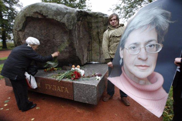 Tumba De La Periodista Anna Politkovskaya