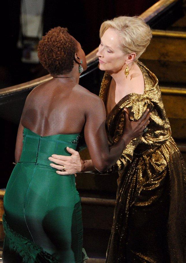 Viola Davis Y Meryl Streep En Los Oscar