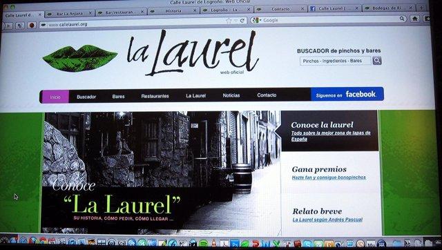 Imagen De La Nueva Web De La Calle Laurel