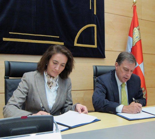 García Cirac Y Mateos Firman El Convenio Para El Desarrollo Del Concurso