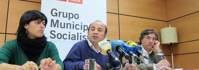 Los Concejales Del PSOE De Murcia
