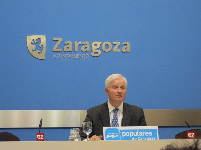 Eloy Suárez, Portavoz Del PP En El Ayuntamiento De Zaragoza