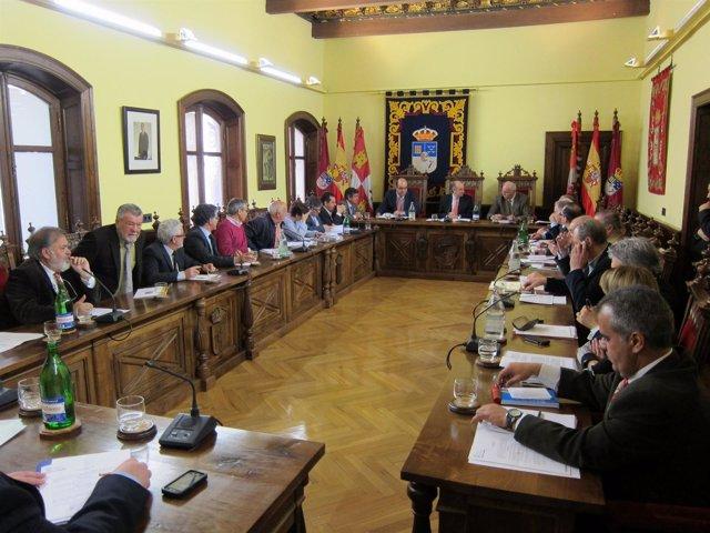 Sesión Del Pleno Provincial En El Palacio De La Salina De Salamanca