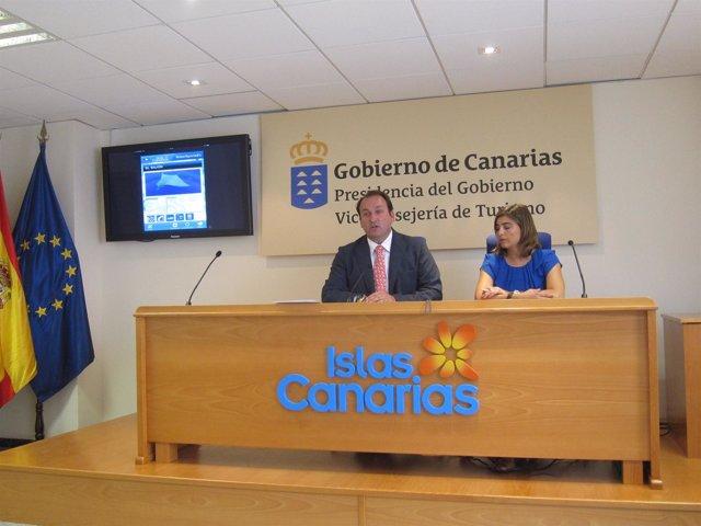 Viceconsejero De Turismo Y Gerente De Promotur Del Gobierno Canario