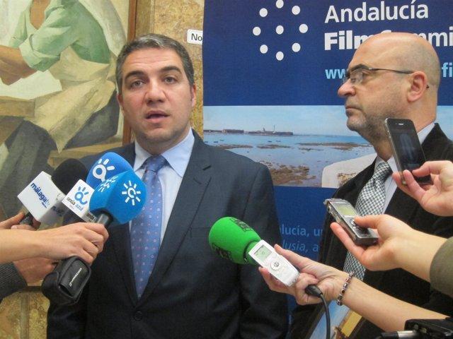 Bendodo Y Rosado, En Declaraciones A Los Periodistas