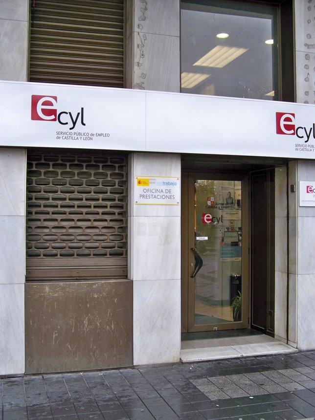 Oficina del Ecyl en Valladolid