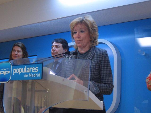 Aguirre En Rueda De Prensa Tras El Comité De Dirección