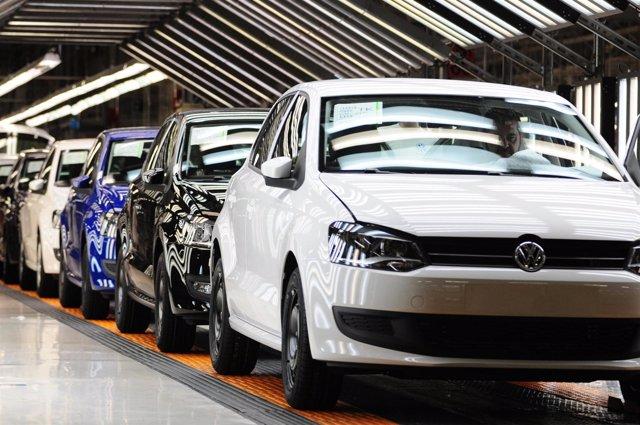 Línea de Volkswagen Navarra.