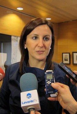 La Consellera De Educación, María José Catalá
