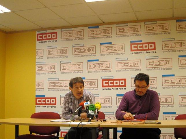 Costas, De CC.OO., Y Santiso, De EU-Os Verdes