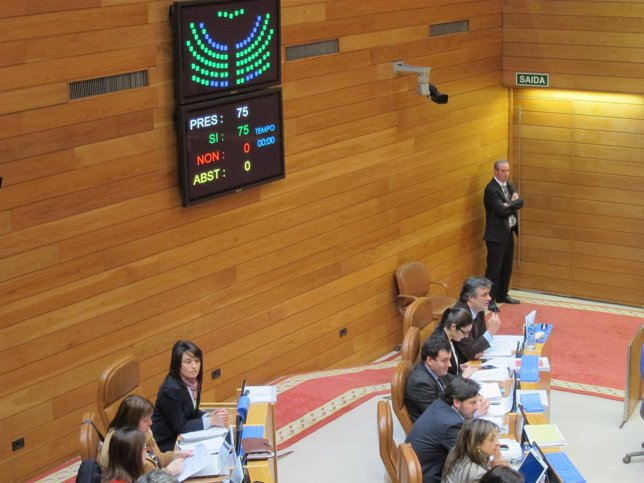 Unanimidad En El Parlamento De Galicia
