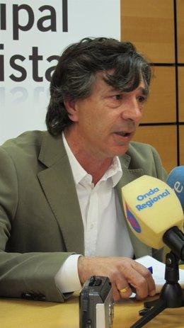 El Concejal Del PSOE Juan Patricio Castro