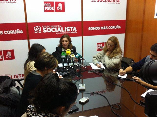 La Socialista Mar Barcón.