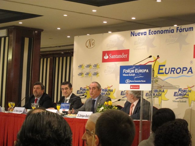 Iñaki Arriola En El Fórum Europa Tribuna Euskadi.