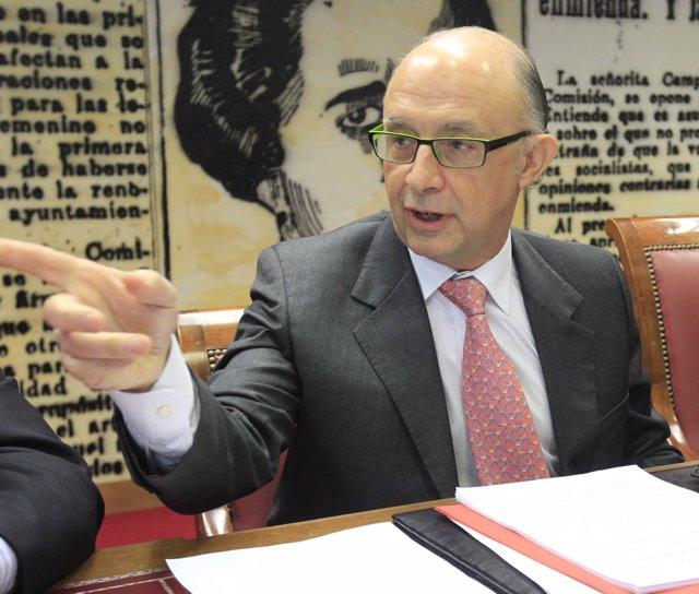 Ministro De Hacienda Y Administraciones Públicas, Cristóbal Montoro