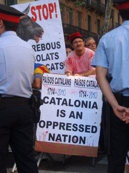 Manifestación Independentista Por La Diada Del 11 De Septiembre De 2010