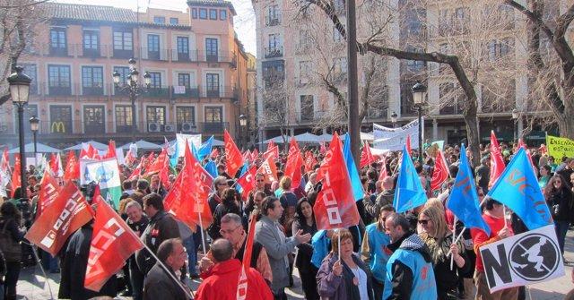 Concentración Sindicatos Toledo Día 29