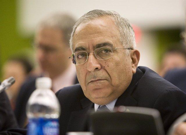 Primer Ministro De La Autoridad Palestina (AP), Salam Fayyad
