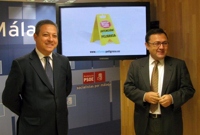 Benítez Y Heredia, En Rueda De Prensa
