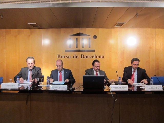 Antoni Giralt, Albert Carreras, Josep Ramon Sanromà Y Emili Gómez