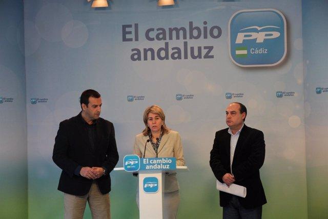 Teresa Ruiz-Sillero, Secretaria General Del PP De Cádiz