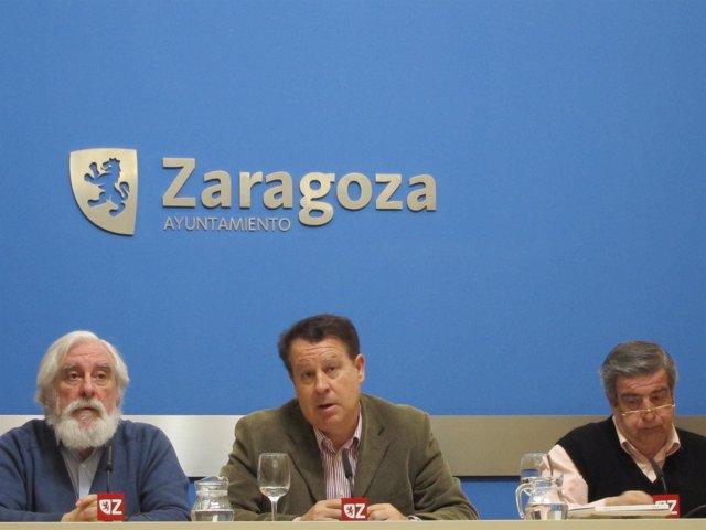 Jerónimo Blasco,  José Antonio Turégano Y Javier Celma