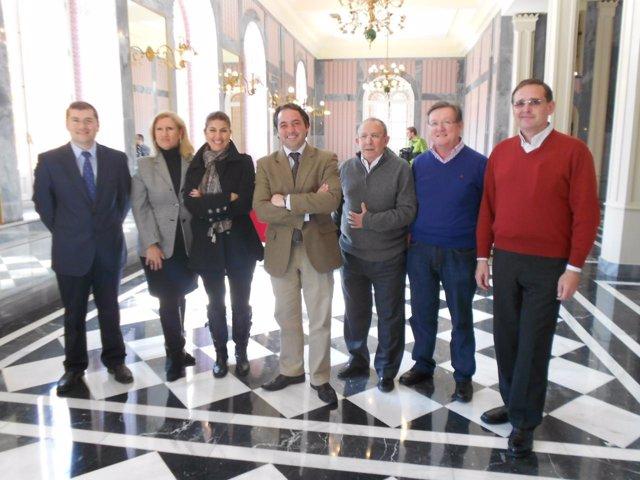 Presentación De La Gala Solidaria 'Murcia, Con Proyecto Hombre'