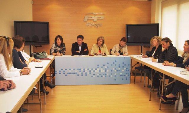 Oña, En Un Encuentro Con Mujeres Empresarias De La Provincia