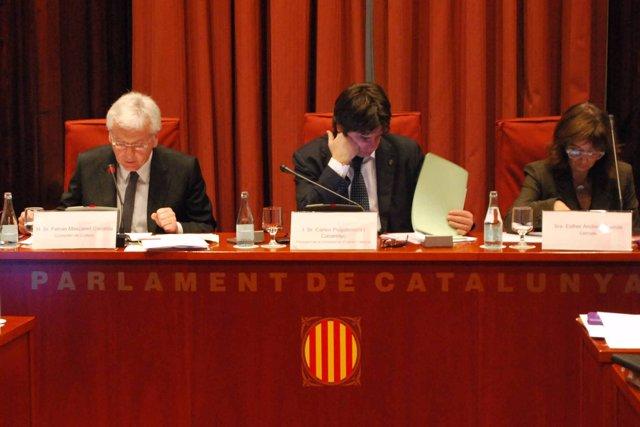 El Conseller De Cultura, Ferran Mascarell, En La Comisión Del Cultura