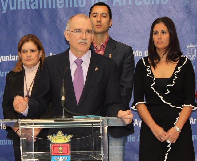Ex Alcalde Cándido Reguera