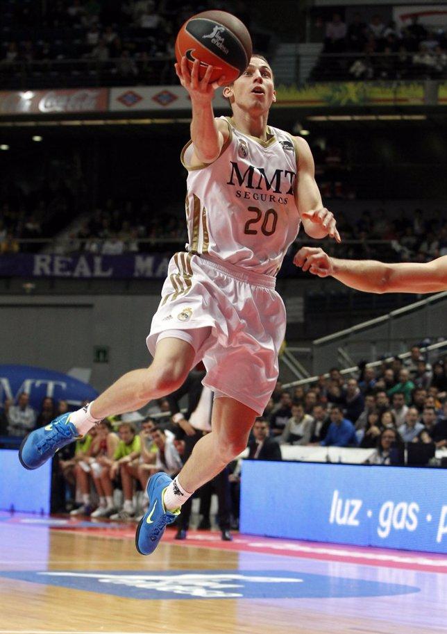 Jaycee Carroll, Real Madrid - Caja Laboral (Baloncesto)