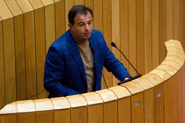 Javier Guerra Comparece En El Parlamento Gallego
