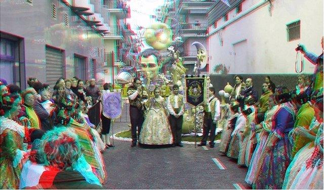 Fotigrafías Falleras En 3D