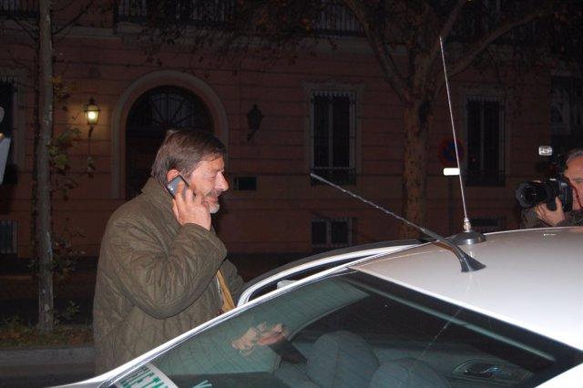 Francisco Javier Guerrero, Tras Declarar Ante La Guardia Civil
