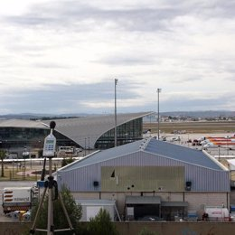 Plano general del aeropuerto de manises