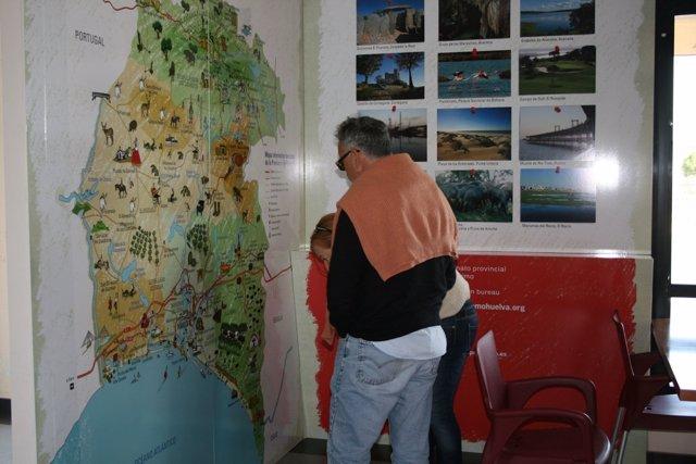 Punto De Información Turística En Cartaya.