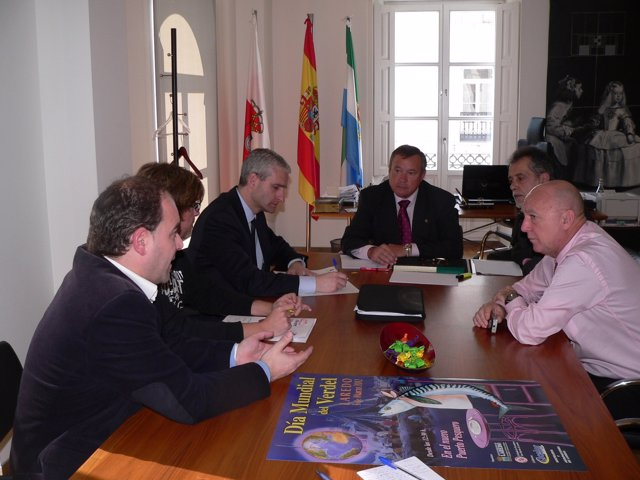 Reunión De Vega Con Los Representantes De E.ON