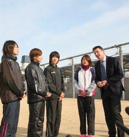 Sebastian Coe En Su Visita A Tokio