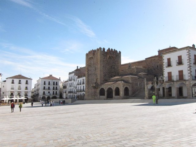 Plaza Mayor De Cáceres, Donde Se Desarrollará La FICAT